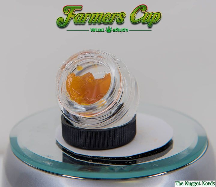Farmers Cup 2 - Most Innovative CBD Hemp Product - Farmtiva @farmtiva - CBD Shatter
