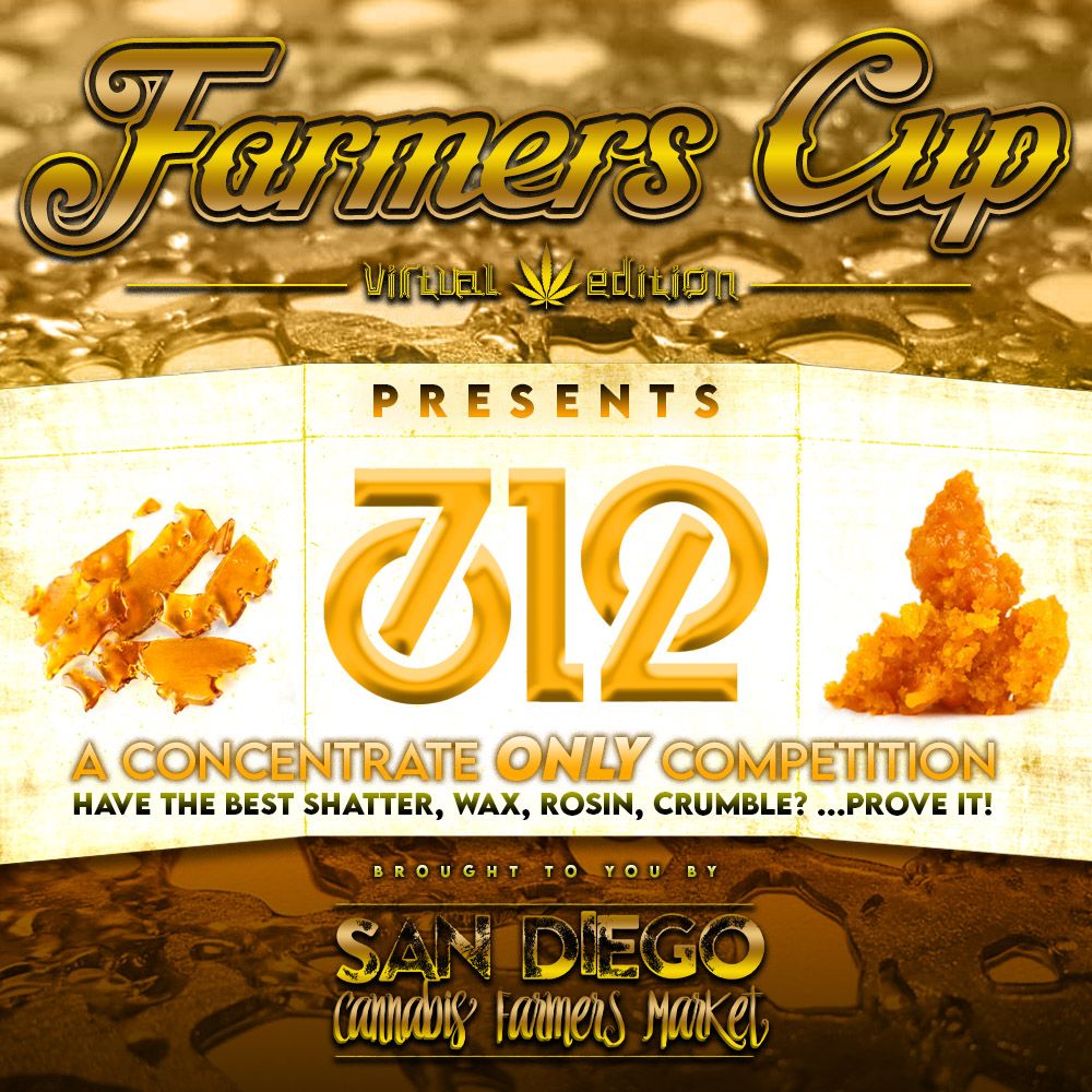 Farmers Cup 4 - Cannabis Concentrates Competition in San Diego, CA
