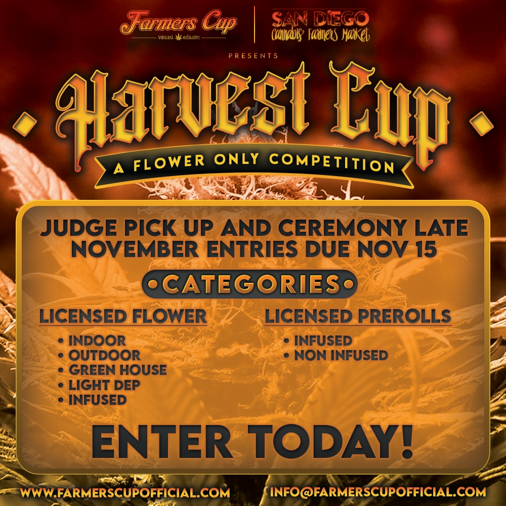 Harvest Cup 2021 - Cannabis Competition in San DIego, CA